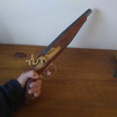 Picture of print of Flintlock Pistol