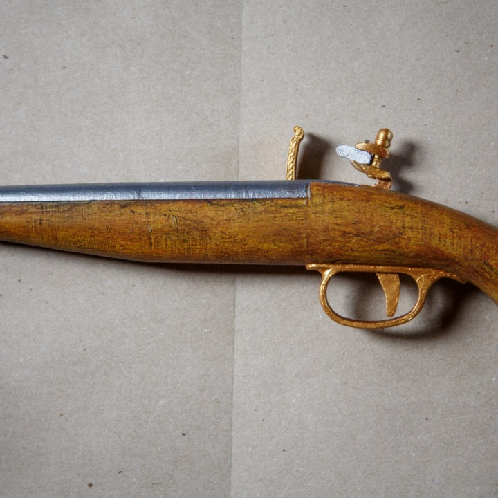 Picture of print of Flintlock Pistol This print has been uploaded by Михаил