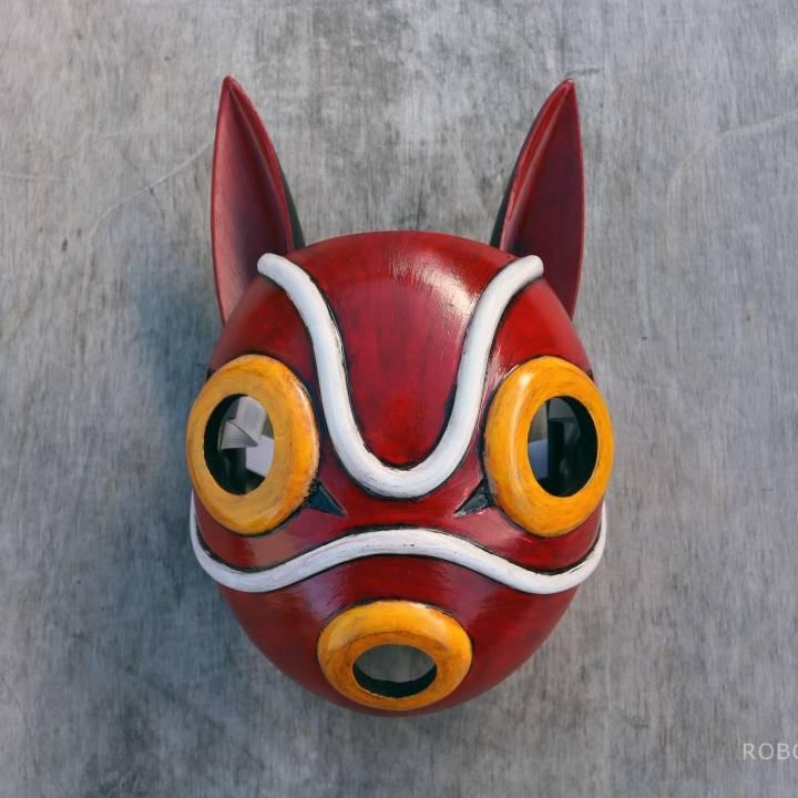 Download San S Mask Princess Mononoke Cosplay Von Rob Glacier