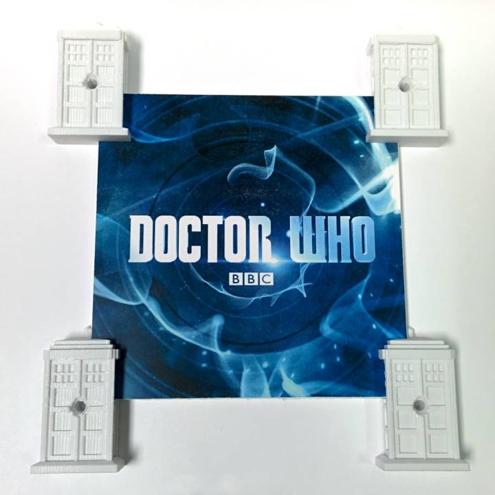 photograph regarding Tardis Printable named 3D Printable TARDIS Envision and Mural hangers as a result of Paul Chase