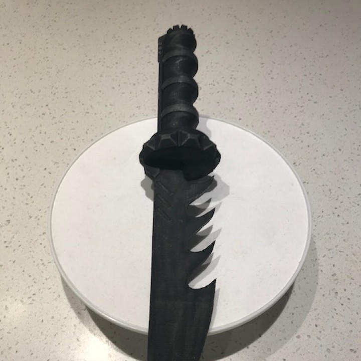 Picture of print of Gears Of War Knife This print has been uploaded by David Stoneham