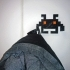 Space Invaders coat hangers image