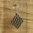 Earrings Cairo pentagonal tiling 1 primary image