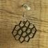 Earrings Cairo pentagonal tiling 3 image