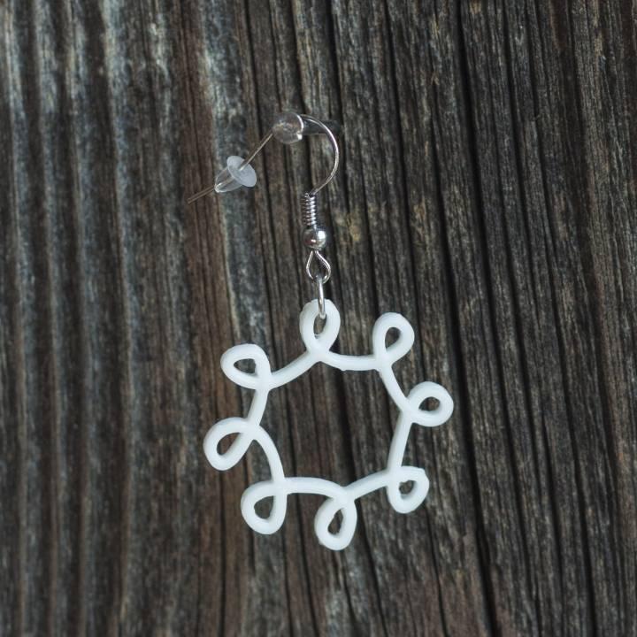 Earrings loop 2