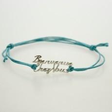 Bienvenue Chez Vous - bracelet charm