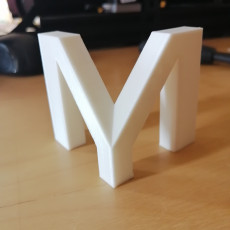 Picture of print of MyMiniFactory Logo