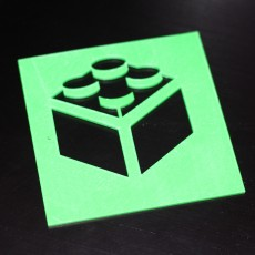 Picture of print of Logo lego (stencil)