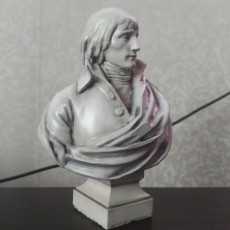 Picture of print of Bust of General Napoleon Bonaparte at The Grand Curtius Liege, Belgium