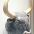 Bull's head rhyton at The Heraklion Archaeological Museum, Greece image