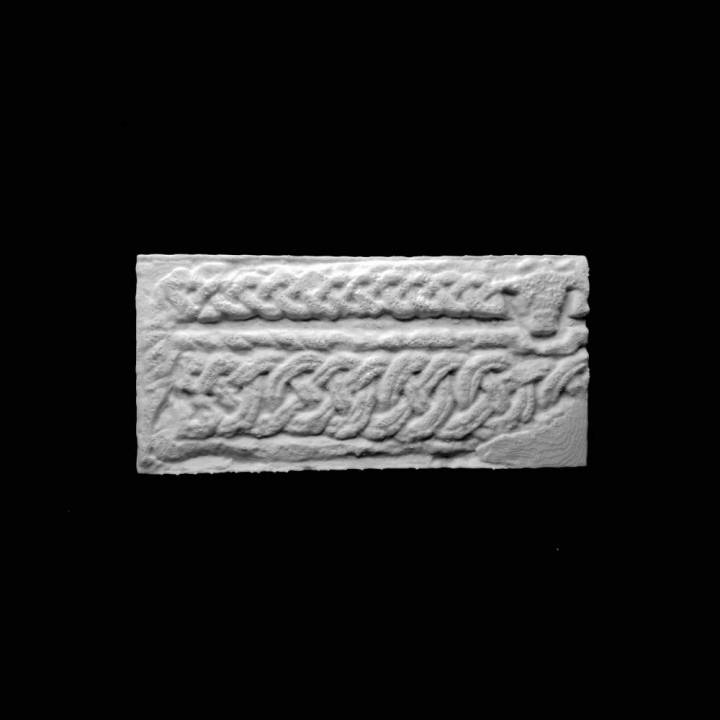 Anglo Saxon Tomb Cover at The Lincoln Collection, United Kingdom
