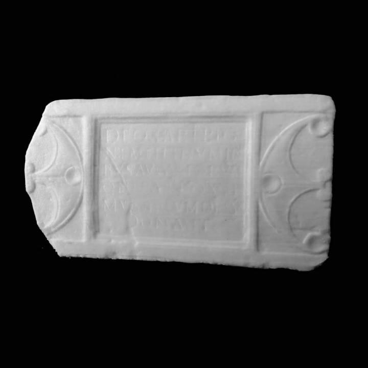Mars Rigonemetis Inscription at The Lincoln Collection, United Kingdom