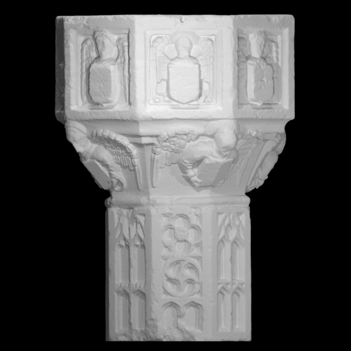 Reconstructed Font at The Lincoln Collection, United Kingdom