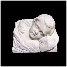 Head of a Sleeping Child at The Usher Gallery, Lincoln