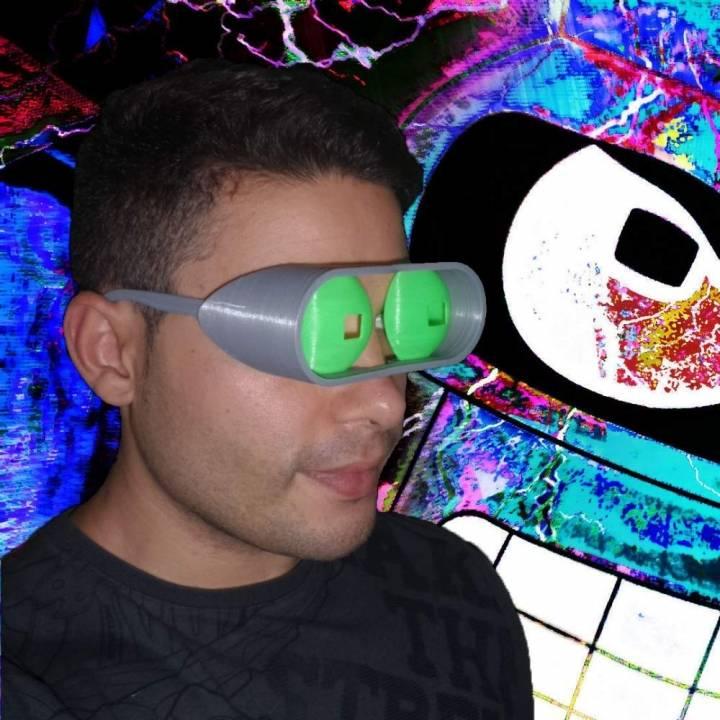 Bender - Futurama - Glasses