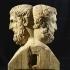 Double Herm with Epicurus and Metrodorus at the Institut für Klassische Archäologie, Vienna image