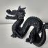 Dragon print image