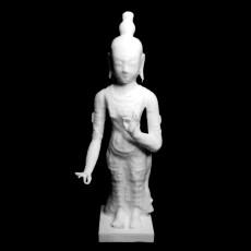 Bodhisattva at The Kiev Museum of Western and Oriental Art, Ukraine