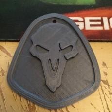 Reaper Keychain (Overwatch)