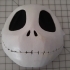 Wearable Jack Skellington Mask image