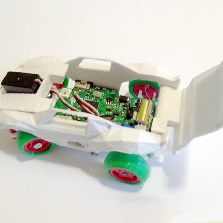 RC Car 3DRacers - Corvette