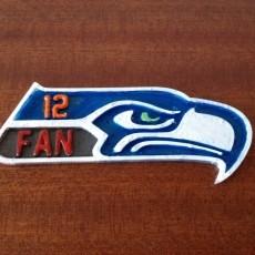 Seahawks Placard
