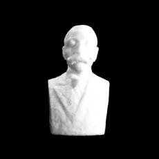 Take Ionescu bust in Alba Iulia, Romania