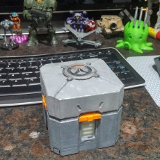 Picture of print of Overwatch Loot Box