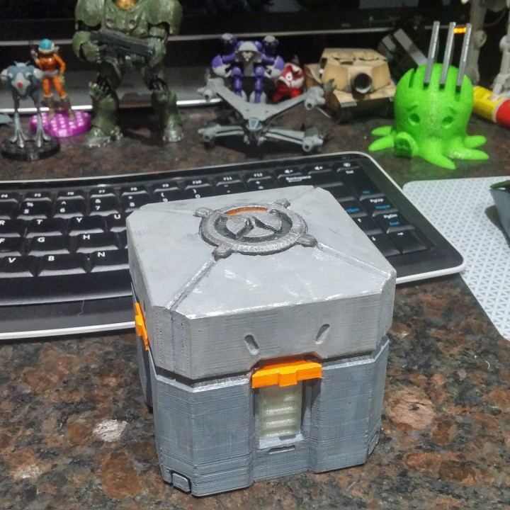 Picture of print of Overwatch Loot Box This print has been uploaded by free bug