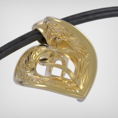 Picture of print of Bracelet Heart Tattoo - Metal / Leather