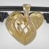 Bracelet Heart Tattoo - Metal / Leather print image