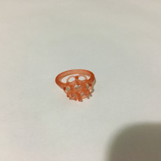 Picture of print of Oval Halo Ring