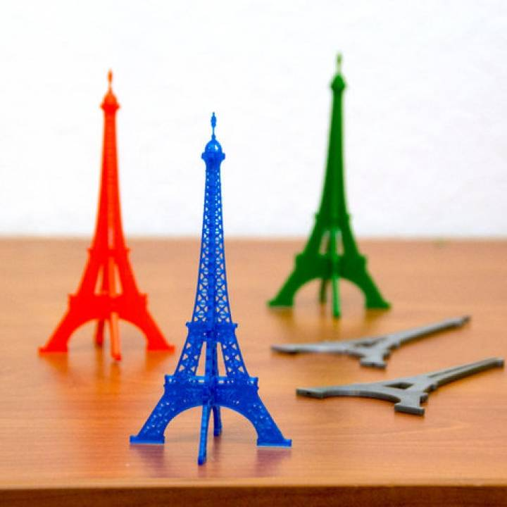 Flat Pack Eiffel Tower
