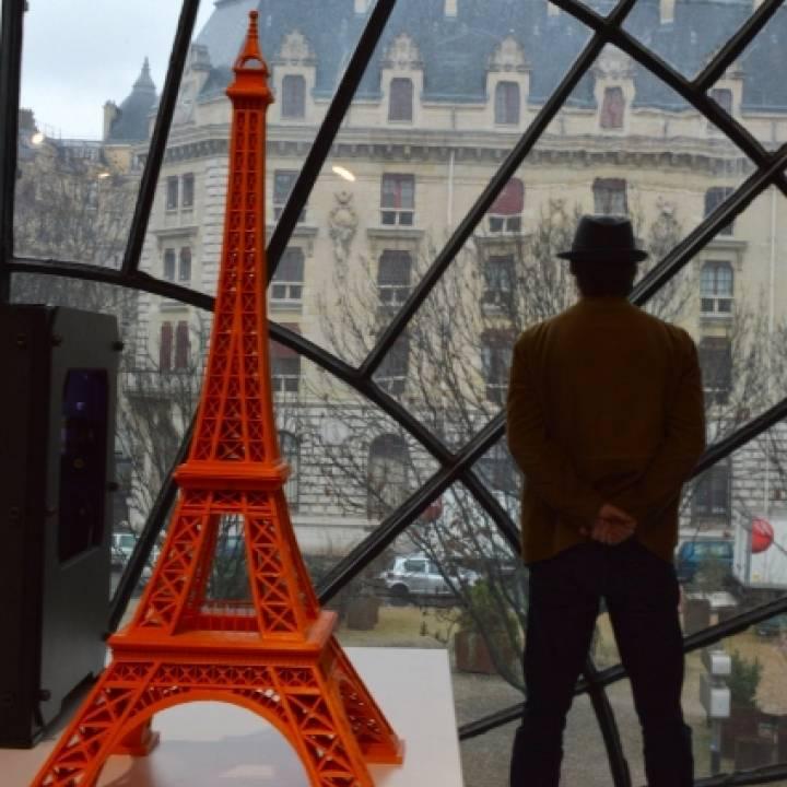 615 mm Eiffel Tower