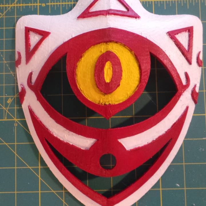 3d Printable Mask Of Truth By Parke Bowman