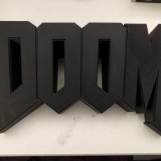 Picture of print of Doom Wall Logo