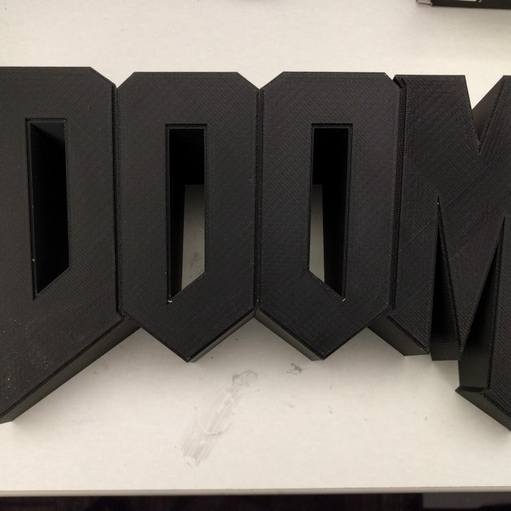 Picture of print of Doom Wall Logo This print has been uploaded by FELIPE FERNANDEZ