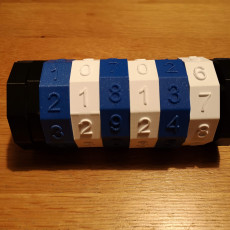 Picture of print of cryptex