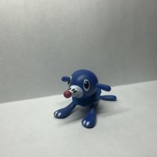 Picture of print of Popplio - Pokemon Sun & Moon Water Starter