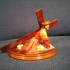 Cristo de la Caida, Hellín escultor:  José Zamorano 1995 print image