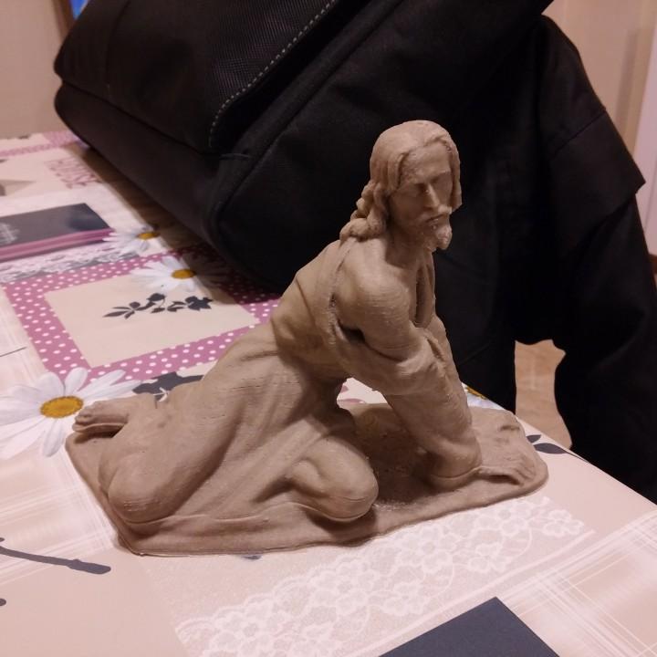 Cristo de la Caida, Hellín escultor:  José Zamorano 1995