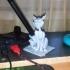 Cheshire cat. pen holder image