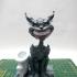 Cheshire cat. pen holder print image