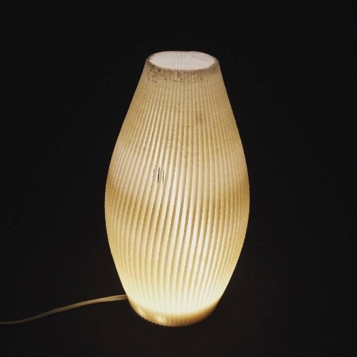 Finned Array Lamp
