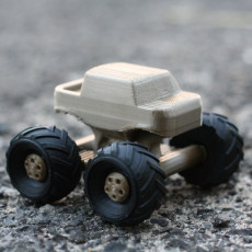 Picture of print of Mini Monster Truck With Suspension