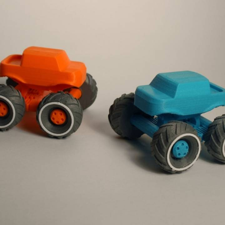 Mini Monster Truck With Suspension