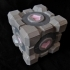 Portal Companion Cube (derivative, with hearts) primary image