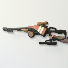Queenbreaker's Bow - Destiny 1:1 Scale