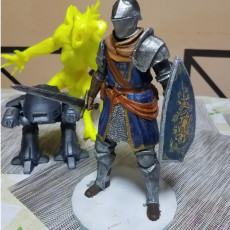 Picture of print of Elite Knight - Dark souls