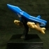 F-22 Raptor Jet with display stand, removable missiles image